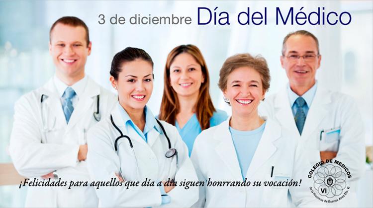 3 de diciembre Día del Médico